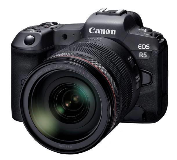 Canon sẽ phát triển máy ảnh không gương lật full-frame Canon EOS R5 và ống kính RF mới Ảnh 1