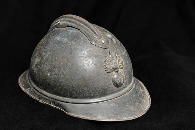 Khả năng đáng kinh ngạc của mũ chiến đấu trong chiến tranh thế giới Ảnh 1