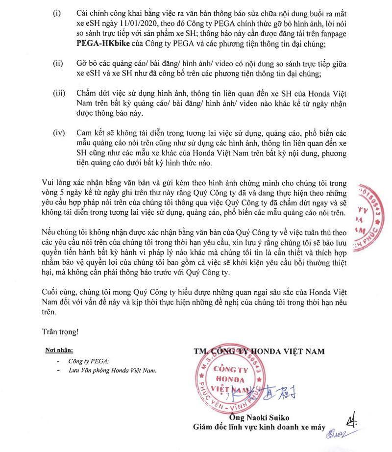 Honda Việt Nam dọa kiện, chủ tịch Pega cho rằng Honda cần 'thức tỉnh' chứ đừng dọa nhau Ảnh 3
