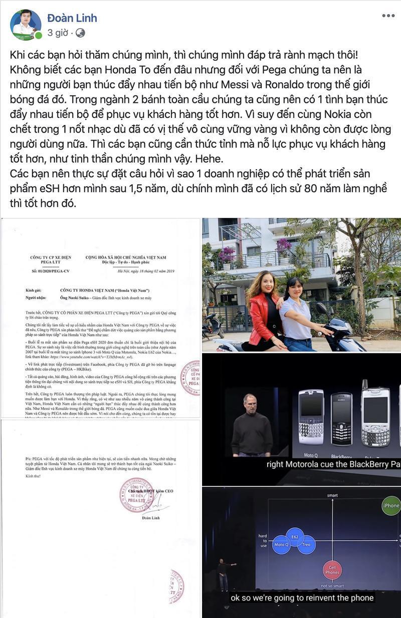 Honda Việt Nam dọa kiện, chủ tịch Pega cho rằng Honda cần 'thức tỉnh' chứ đừng dọa nhau Ảnh 5