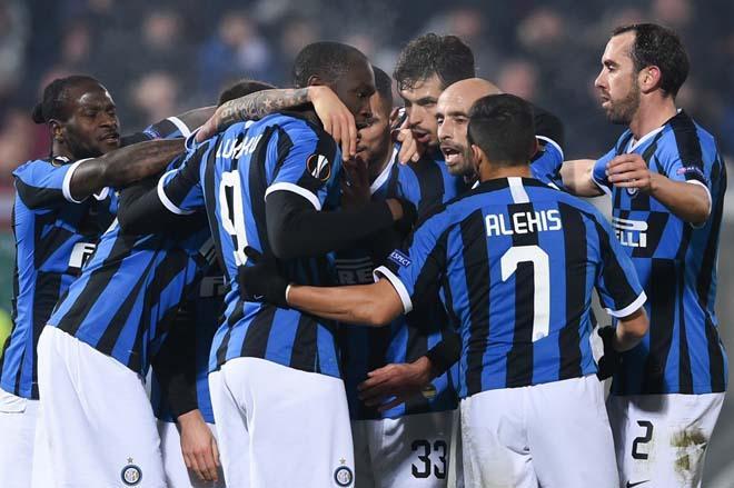 Europa League: Inter giành chiến thắng quan trọng trên sân của Ludogorets