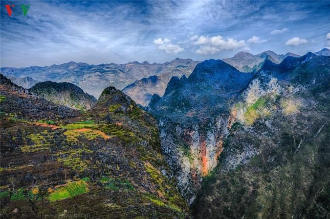 Vẻ đẹp hùng vĩ và nên thơ nơi cao nguyên đá Hà Giang Ảnh 10