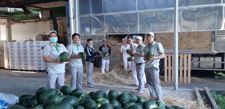 Đề nghị ưu tiên sử dụng nông sản vào bữa ăn cho người lao động Ảnh 1