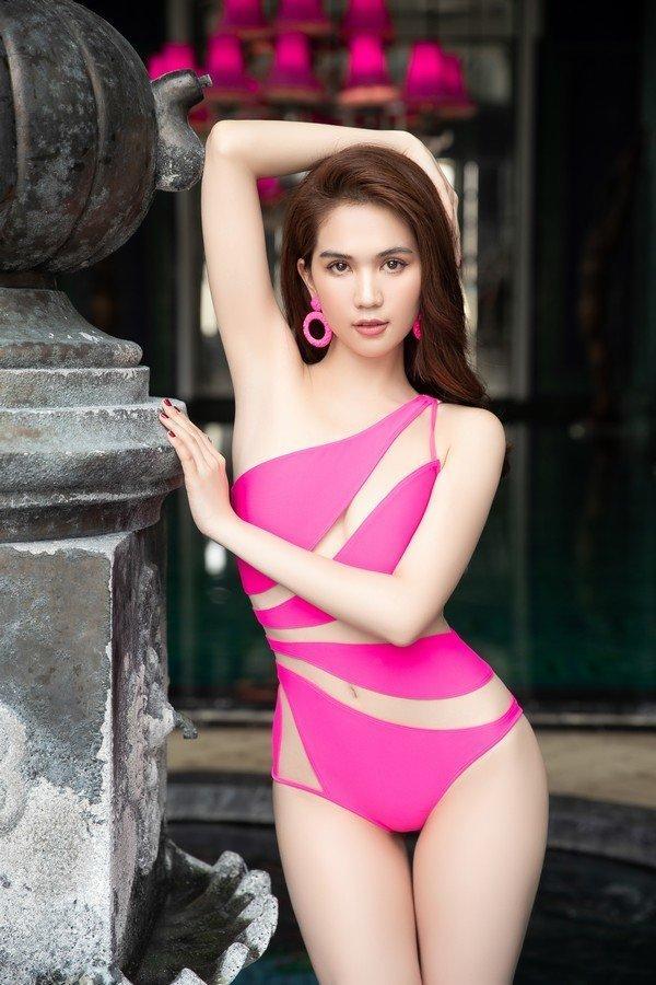 Mấy ai như Ninh Dương Lan Ngọc, Ngọc Trinh, Angela Phương Trinh: Cân đẹp màu hồng - tím khó nhằn Ảnh 5