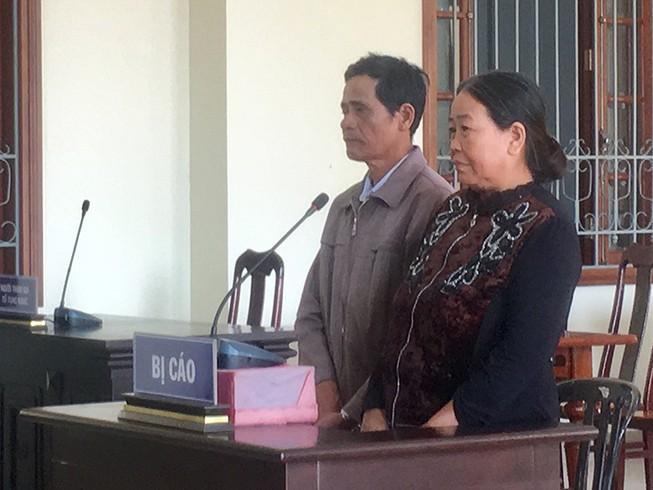 Cản cắm ranh đất, 2 vợ chồng hầu tòa Ảnh 1