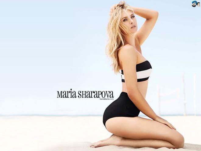 Sắc vóc của Maria Sharapova Ảnh 2