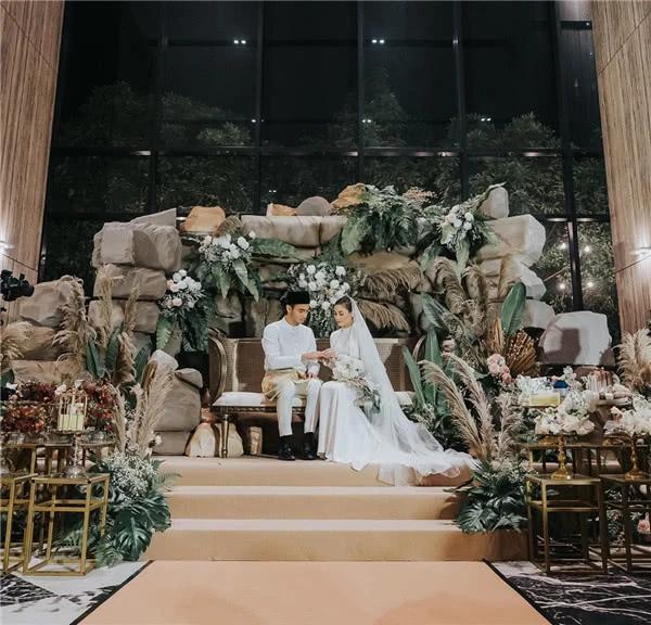 Lễ cưới thế kỷ tốn hàng triệu USD của cặp đôi vàng Malaysia Ảnh 1