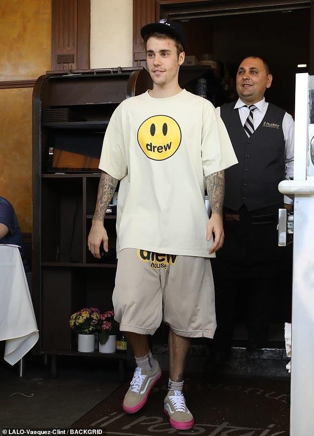 Vẻ ngoài thất thường của Justin Bieber Ảnh 8