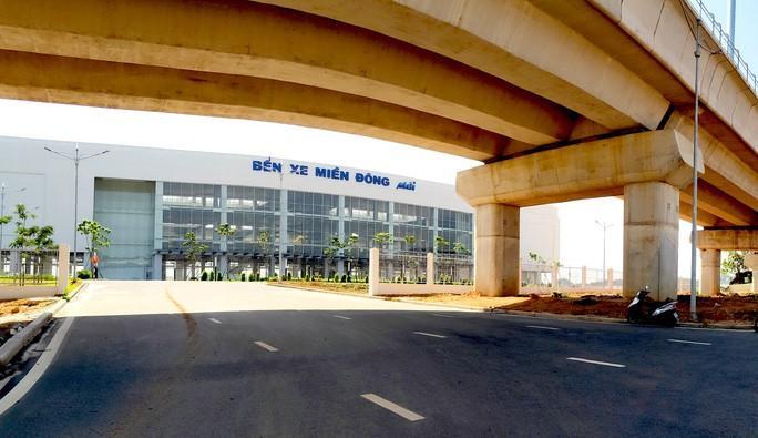 Giao thông khu vực Bến xe Miền Đông mới bắt đầu có hàng loạt điều chỉnh Ảnh 2
