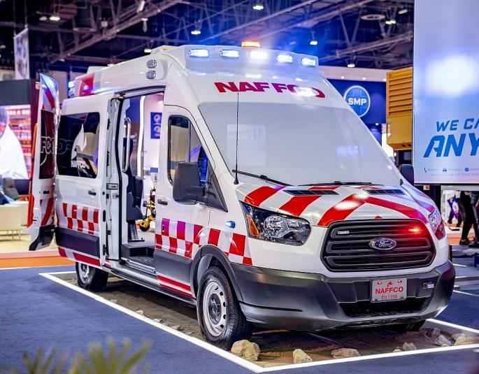 Ford Transit - Lựa chọn hàng đầu của các công ty hoán cải và cung cấp dịch vụ xe cứu thương tại Trung Đông Ảnh 1