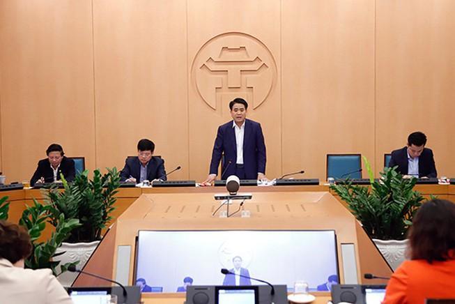 Chủ tịch Hà Nội nhấn mạnh nguy cơ lây nhiễm chéo dịch COVID-19 Ảnh 1