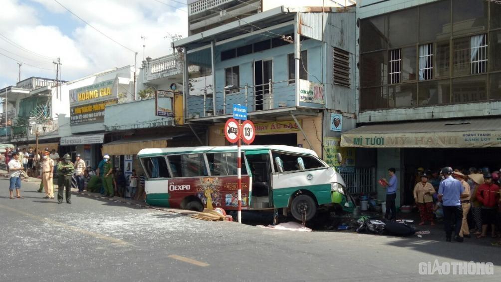 Từ vụ tai nạn làm 2 người tử vong: Tổng kiểm tra xe buýt ở Bạc Liêu Ảnh 1