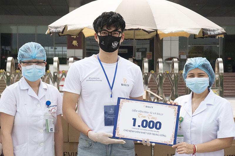 Diễn viên 'Cô gái nhà người ta' trao 200 triệu chống dịch Covid-19 Ảnh 1
