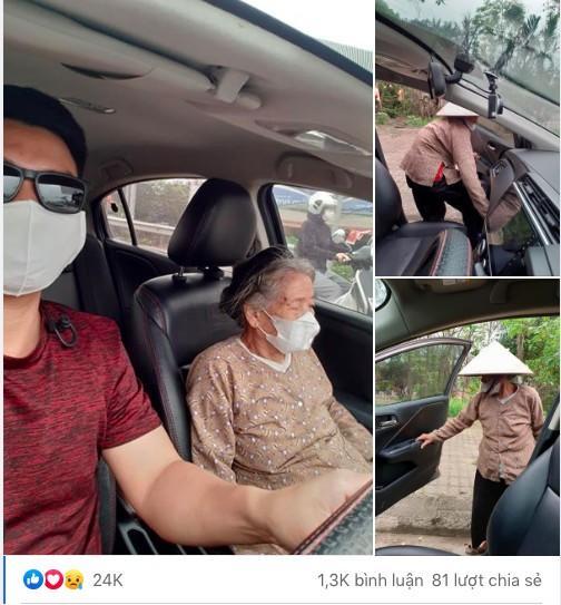 Thấy cụ bà gần 90 tuổi đứng chờ xe buýt, tài xế mời cụ lên xe chở đến địa điểm cụ cần cùng hành động đặc biệt Ảnh 2