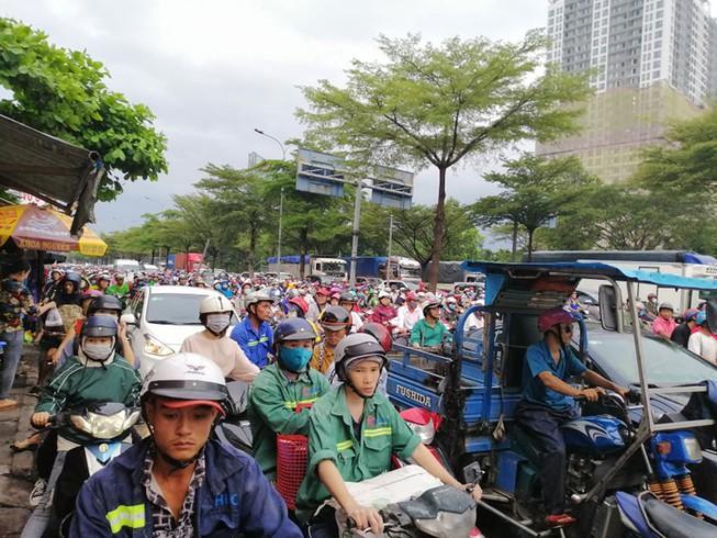 Sắp khởi công nút giao thông Nguyễn Văn Linh - Nguyễn Hữu Thọ Ảnh 1