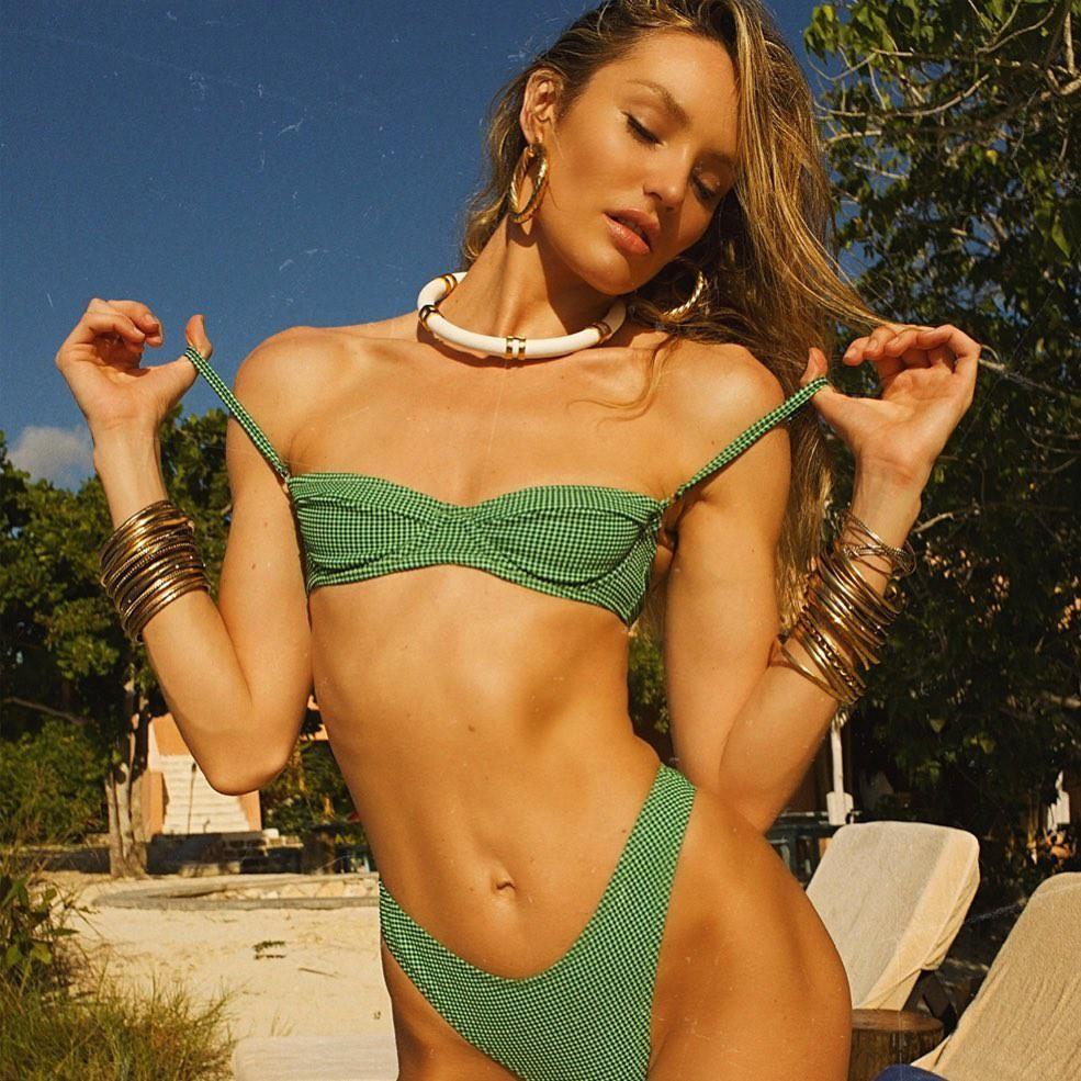 Candice Swanepoel diện bikini trễ nải tôn dáng ngọc ngà Ảnh 3