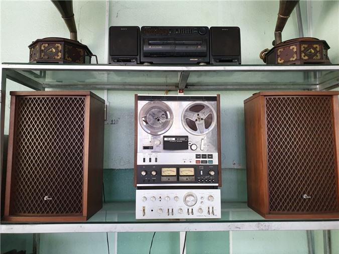 Chiêm ngưỡng bộ sưu tập máy nghe nhạc xưa độc đáo tại miền Tây Ảnh 10