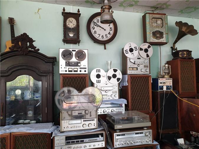 Chiêm ngưỡng bộ sưu tập máy nghe nhạc xưa độc đáo tại miền Tây Ảnh 8