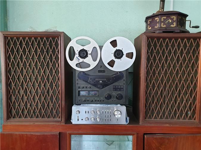 Chiêm ngưỡng bộ sưu tập máy nghe nhạc xưa độc đáo tại miền Tây Ảnh 4
