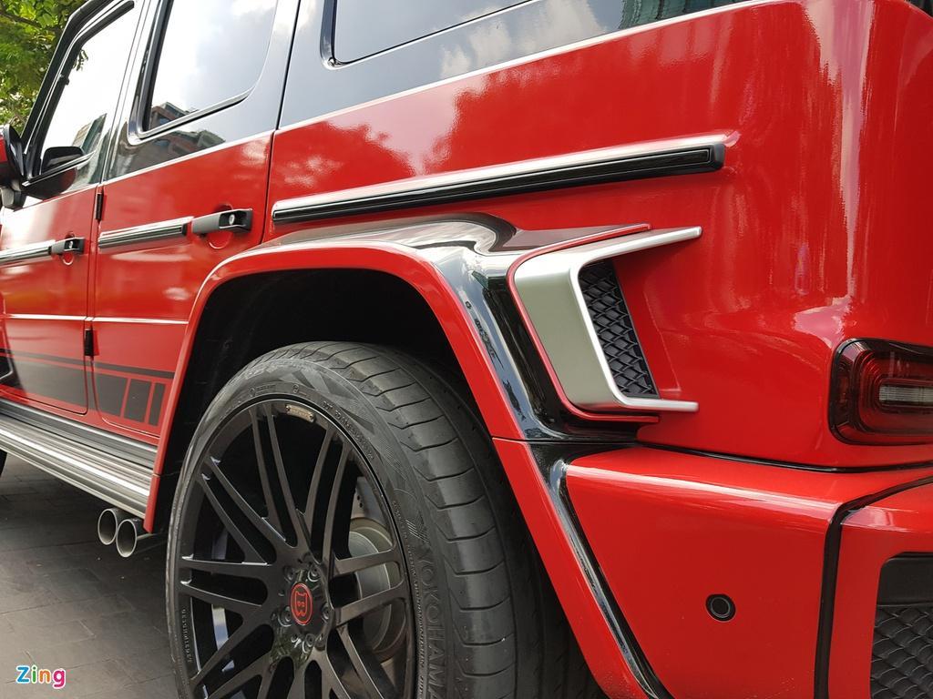 Mercedes-AMG G 63 hàng độc với gói độ Brabus 700 Widestar Ảnh 14