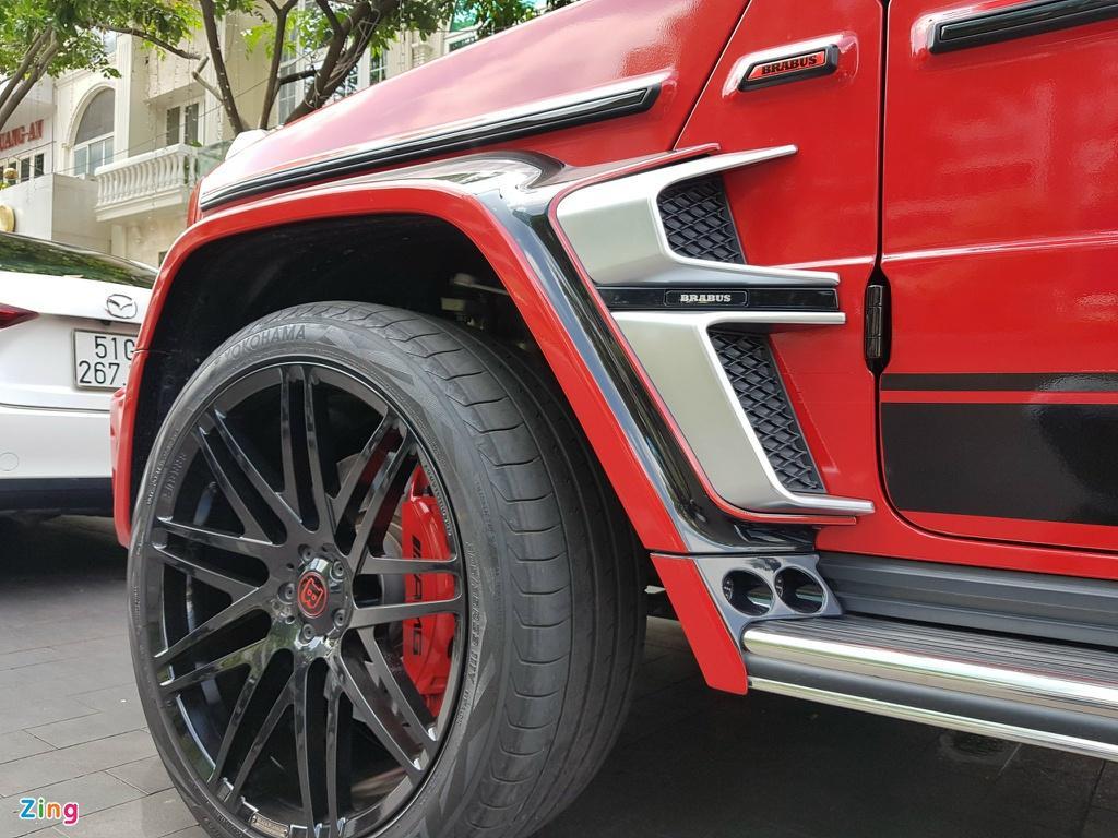 Mercedes-AMG G 63 hàng độc với gói độ Brabus 700 Widestar Ảnh 13