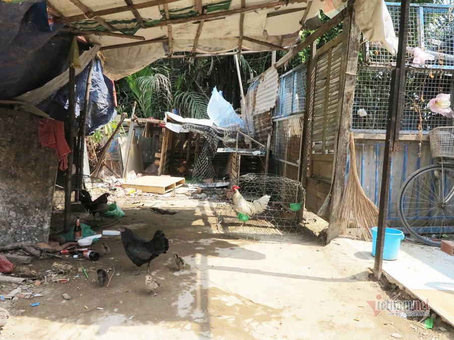 Tình người trong xóm trọ nghèo nhất Sài Gòn giữa mùa dịch Covid-19 Ảnh 4