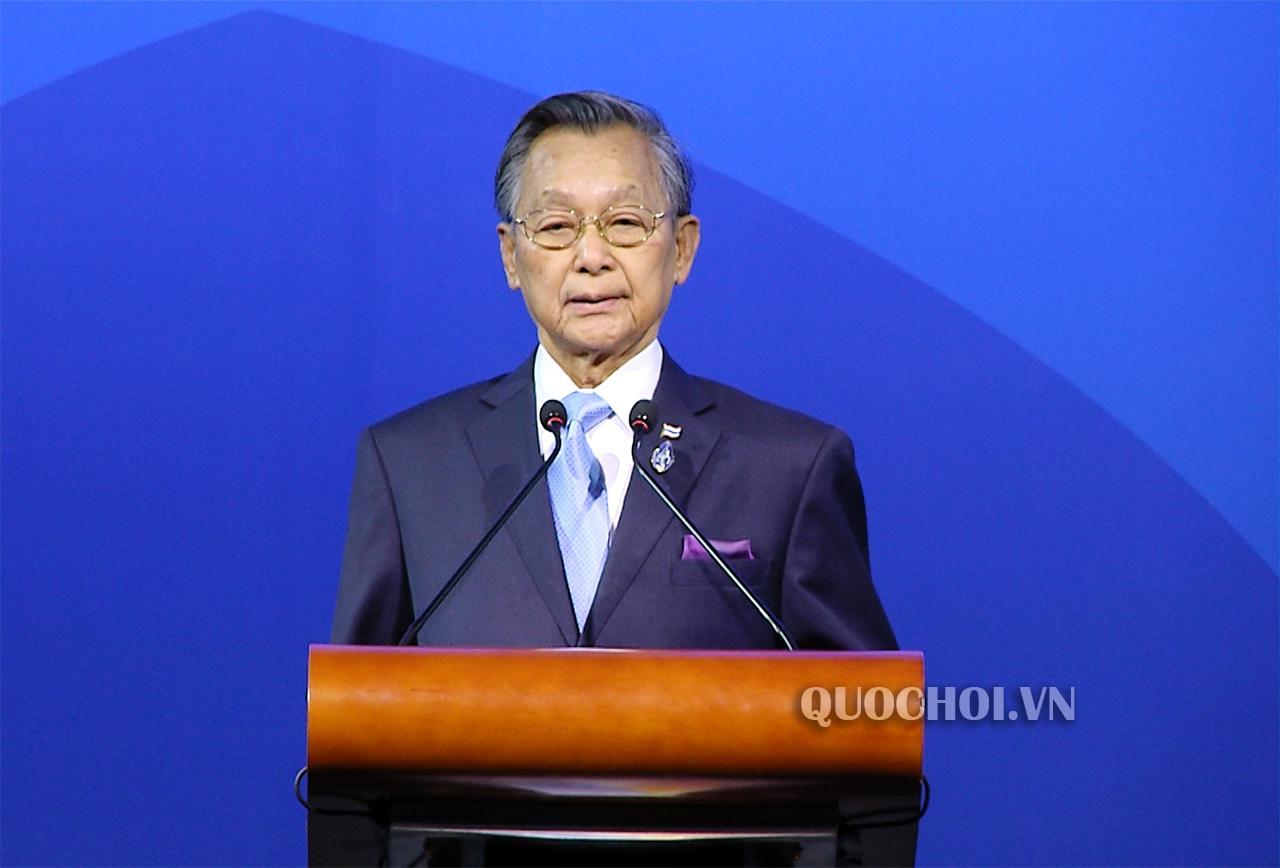 Chủ tịch Quốc hội Vương quốc Thái Lan Chuan Leekpai gửi thư Chủ tịch Quốc hội Nguyễn Thị Kim Ngân Ảnh 1