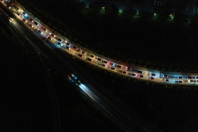Đường xá Vũ Hán tắc nghẽn trong giờ cao điểm Ảnh 6