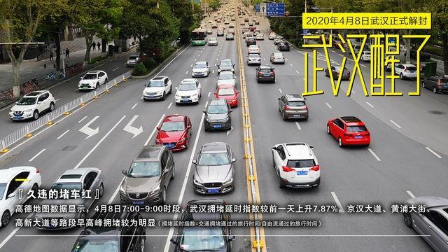 Đường xá Vũ Hán tắc nghẽn trong giờ cao điểm Ảnh 4