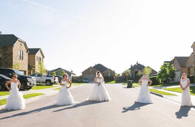Ở nhà quá chán, nhiếp ảnh gia rủ hàng xóm chụp ảnh váy cưới Ảnh 3