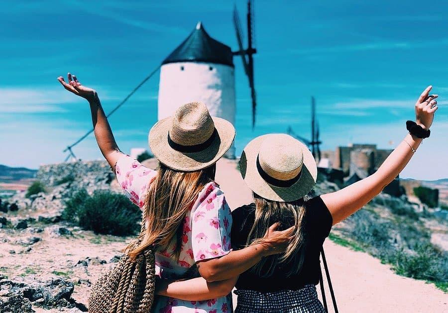 Thiên đường cối xay gió đẹp như tranh vẽ ở Tây Ban Nha Ảnh 8
