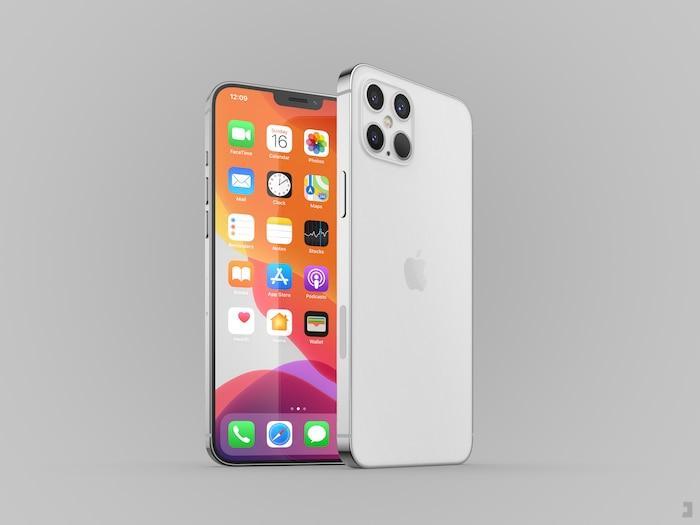 iPhone 12 Pro xuất hiện với thiết kế ấn tượng: Ngoại hình vuông vức giống iPhone 5, 4 camera siêu lớn Ảnh 2