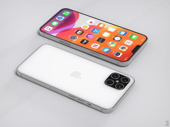 iPhone 12 Pro xuất hiện với thiết kế ấn tượng: Ngoại hình vuông vức giống iPhone 5, 4 camera siêu lớn Ảnh 6