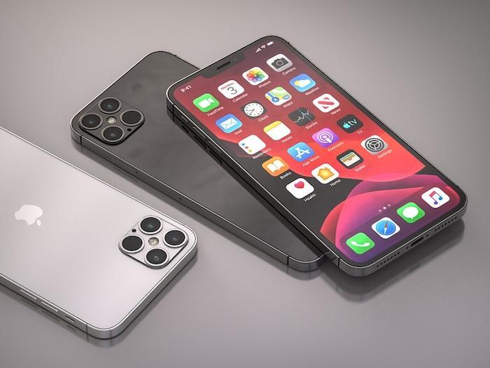 iPhone 12 Pro xuất hiện với thiết kế ấn tượng: Ngoại hình vuông vức giống iPhone 5, 4 camera siêu lớn Ảnh 1