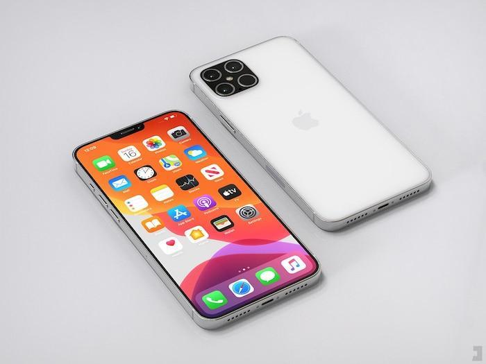 iPhone 12 Pro xuất hiện với thiết kế ấn tượng: Ngoại hình vuông vức giống iPhone 5, 4 camera siêu lớn Ảnh 5