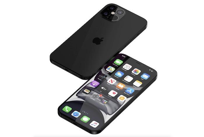 iPhone 12 Pro xuất hiện với thiết kế ấn tượng: Ngoại hình vuông vức giống iPhone 5, 4 camera siêu lớn Ảnh 3