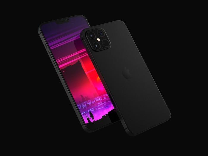 iPhone 12 Pro xuất hiện với thiết kế ấn tượng: Ngoại hình vuông vức giống iPhone 5, 4 camera siêu lớn Ảnh 8