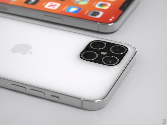 iPhone 12 Pro xuất hiện với thiết kế ấn tượng: Ngoại hình vuông vức giống iPhone 5, 4 camera siêu lớn Ảnh 4