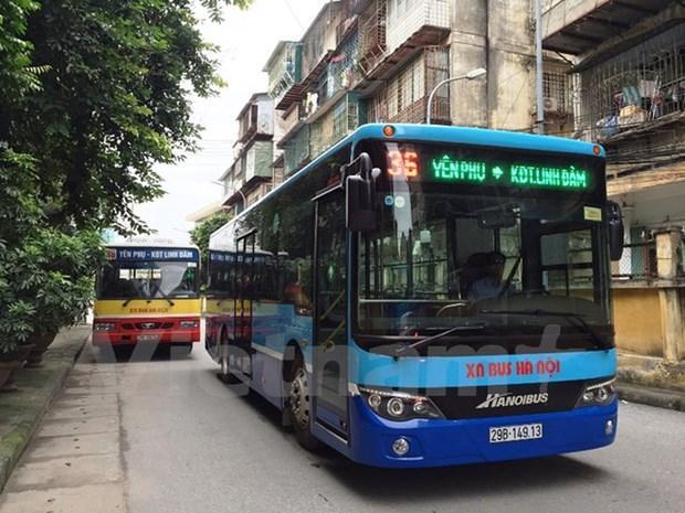 Xe buýt Hà Nội sẽ chạy lại tất cả các tuyến kể từ ngày 23/4 Ảnh 1