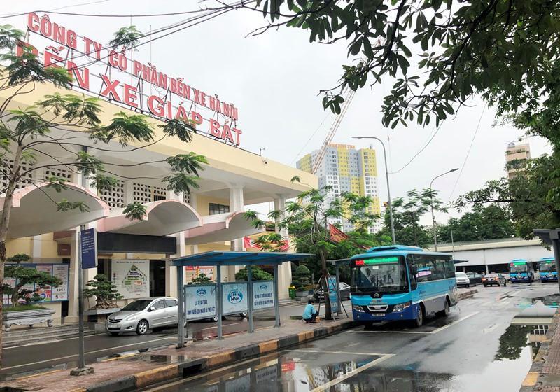 Bến xe, vận tải Hà Nội ra sao trong sáng mở cửa đón khách trở lại Ảnh 2