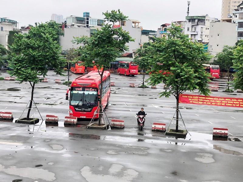 Bến xe, vận tải Hà Nội ra sao trong sáng mở cửa đón khách trở lại Ảnh 9
