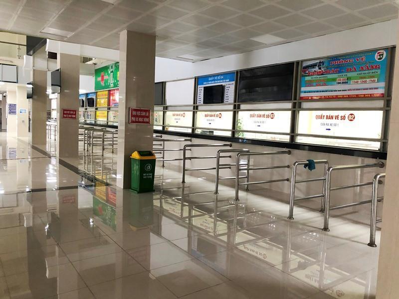 Bến xe, vận tải Hà Nội ra sao trong sáng mở cửa đón khách trở lại Ảnh 5