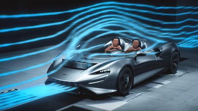 McLaren mui trần chạy tốc độ cao không làm bay tóc lái xe Ảnh 1