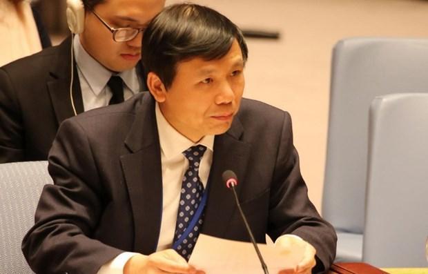Việt Nam kêu gọi hợp tác quốc tế về thanh niên tại phiên họp của HĐBA Ảnh 1