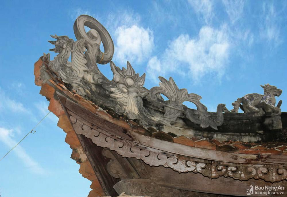 Chiêm ngưỡng nghệ thuật điêu khắc đình Long Thái Ảnh 8
