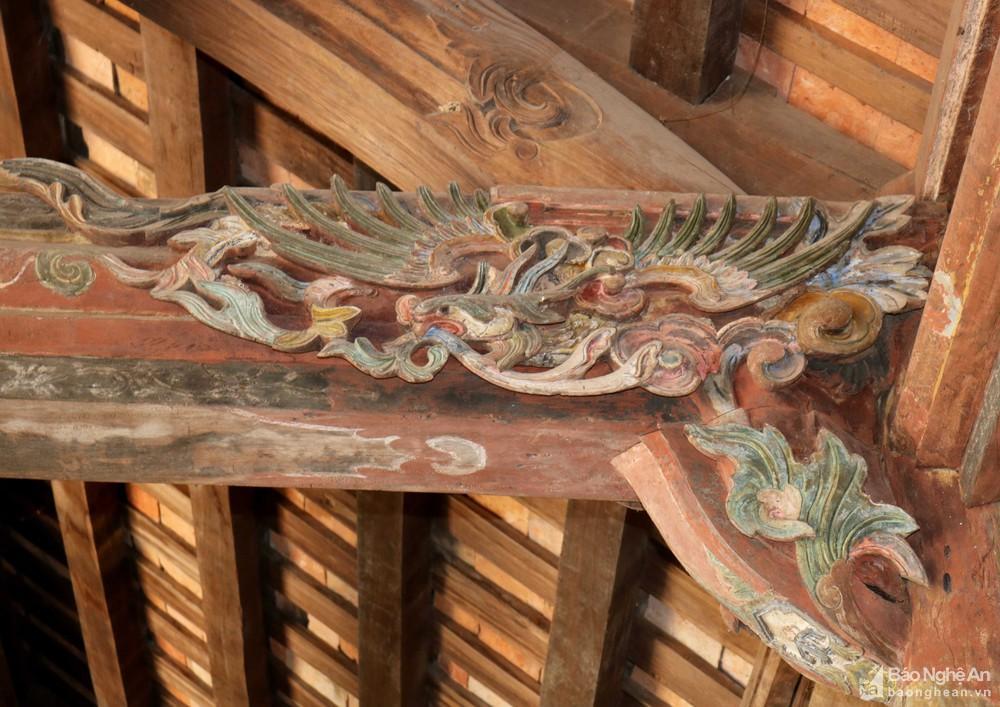 Chiêm ngưỡng nghệ thuật điêu khắc đình Long Thái Ảnh 6