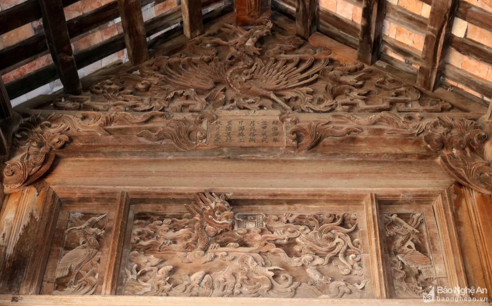 Chiêm ngưỡng nghệ thuật điêu khắc đình Long Thái Ảnh 4
