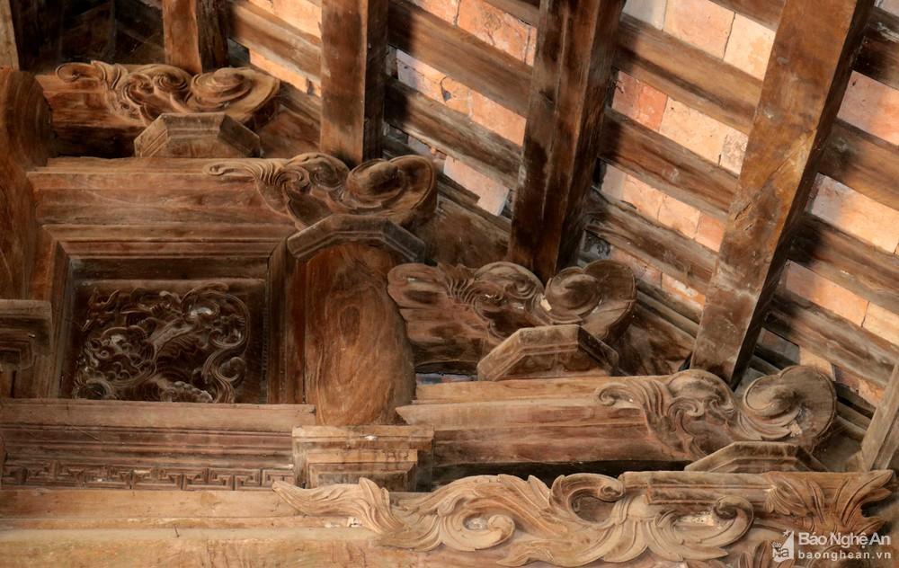 Chiêm ngưỡng nghệ thuật điêu khắc đình Long Thái Ảnh 5