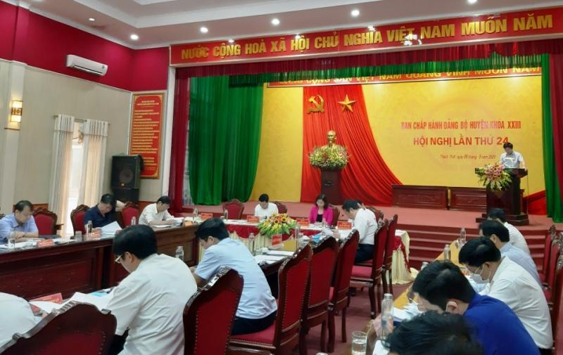 Thạch Thất: Hoàn thành đại hội chi bộ, đảng bộ trực thuộc trước ngày 15-6 Ảnh 1