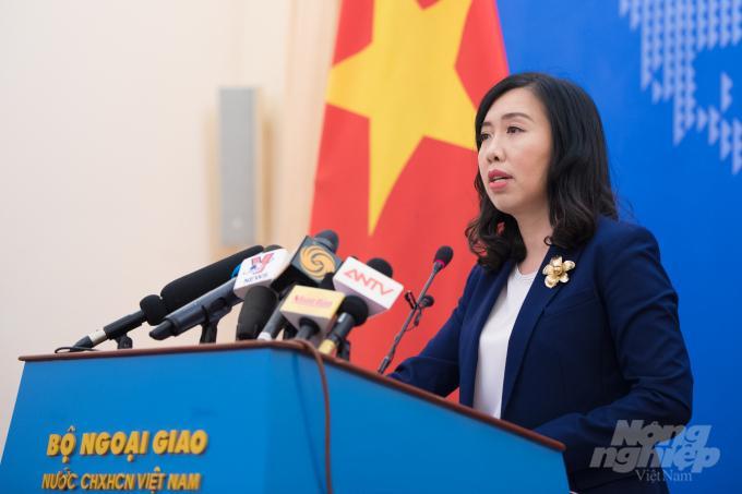 Việt Nam đề nghị Trung Quốc không làm phức tạp thêm tình hình Biển Đông Ảnh 1